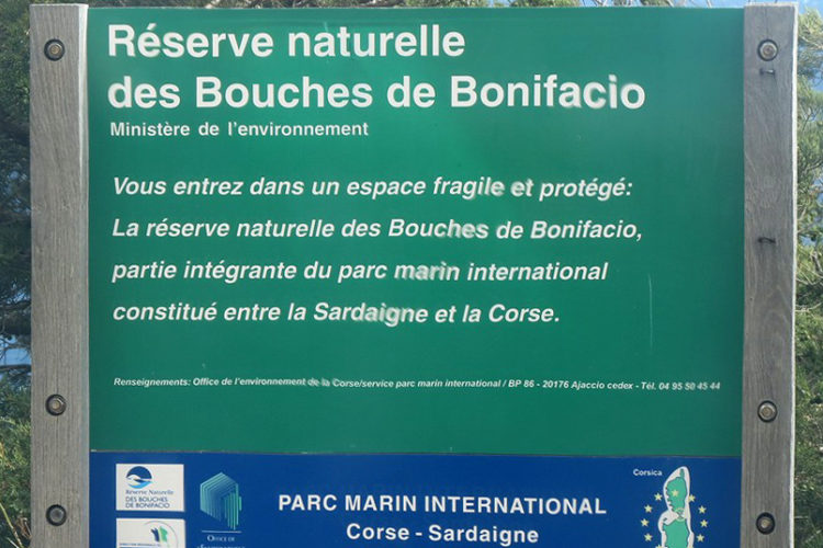 Plage, Fazzio, réserve naturelle, Bonifacio, Corse