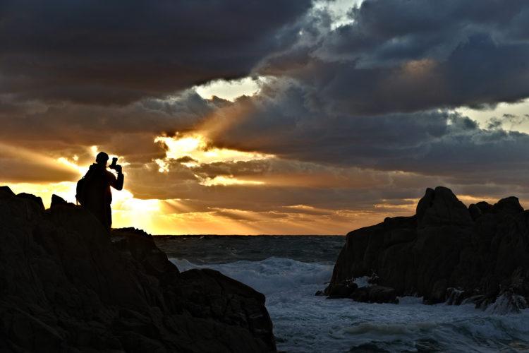Plage, Tunara, photographe, Bonifacio, Corse