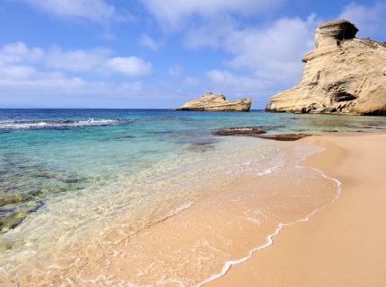 Expérience, plage, sentier, Bonifacio, Corse.jpg