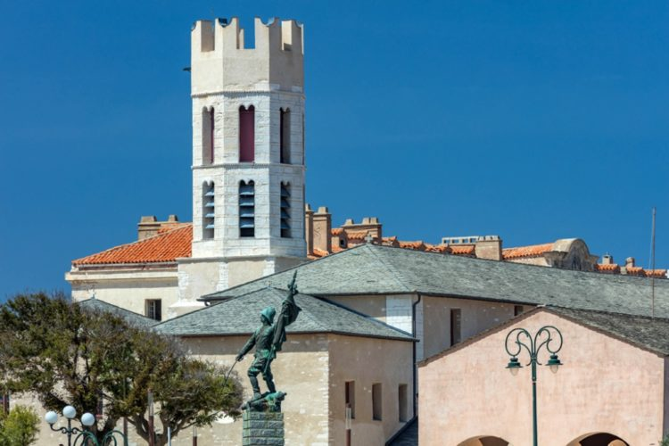 Eglise, bonifacio, monument, paraoisse, Corsica